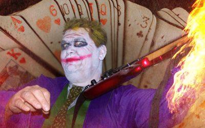 The Joker: heerlijk dampend gitaarwerk met een tikkeltje ondeugd…